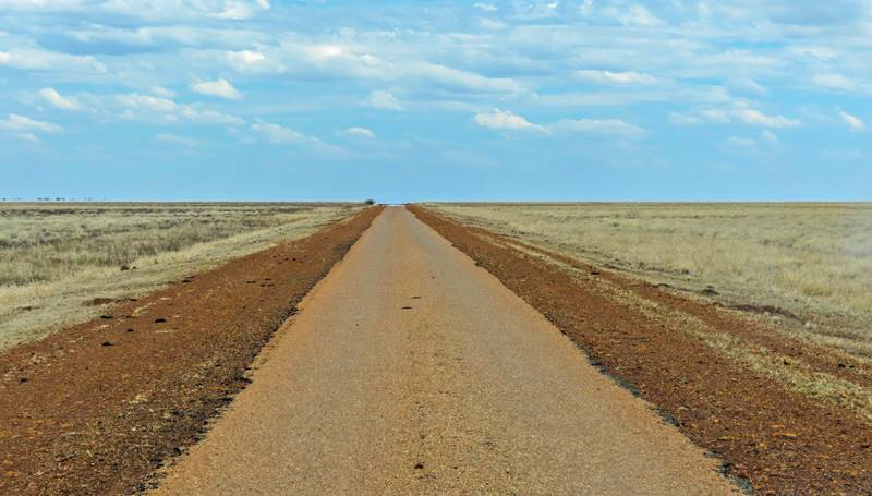 Emptiness on Tablelands Highway