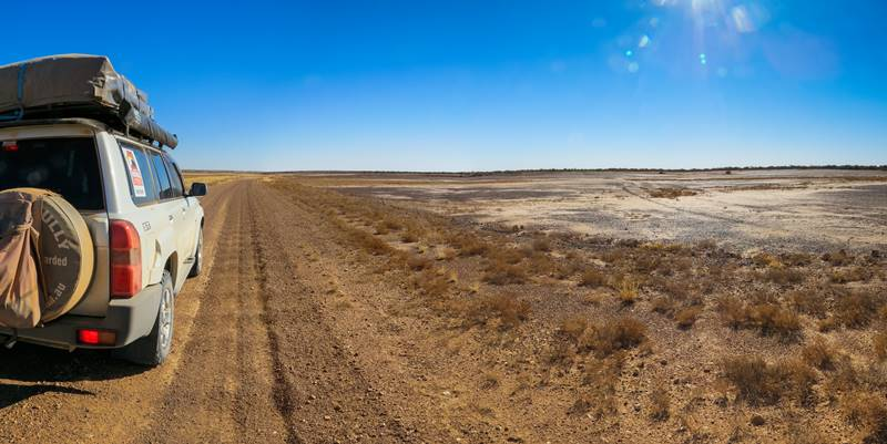 Take a Road Trip - on the way to Diamantina National Park